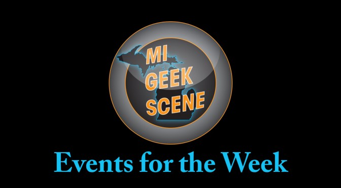 Events for the Week March 26th – April 1st