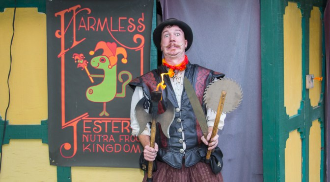 Harmless T Jesterson at the Michigan Renaissance Festival 2016
