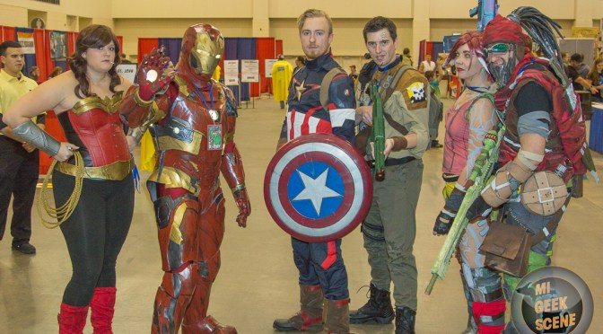 Grand Rapids Comic Con 2016 Friday