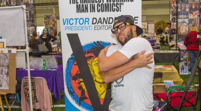 Victor Dandridge at the Monroe Comic Con 2016