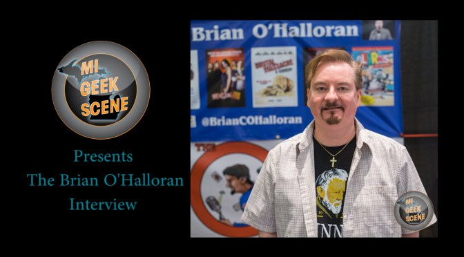 Brian O'Halloran at the Cherry Capital Comic Con 2018