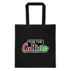 For The Culture Tote bag