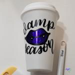 Vamp Season Coffee Cup Tutorial