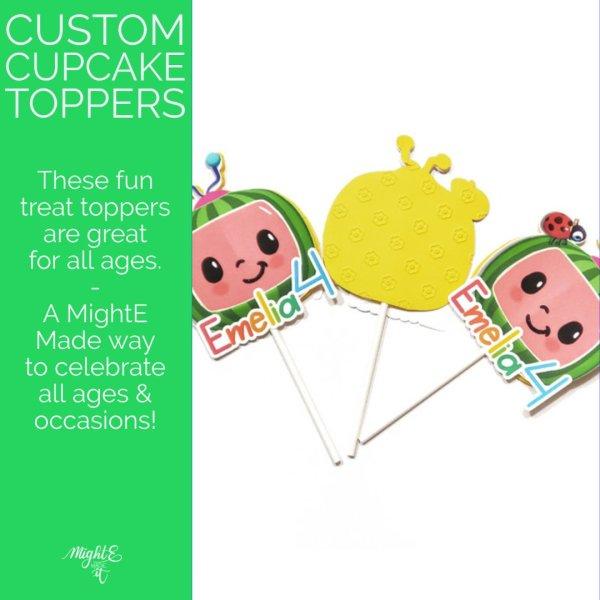 Custom Cupcake Topper Promo Image