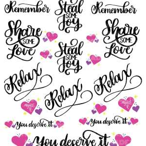 Mighte Reminders Sticker Set