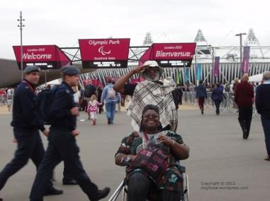 Paralympics 2012 entrance gate