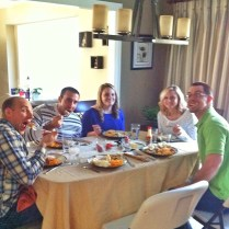 Thanksgiving at the Cressey's