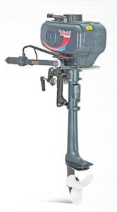 MightyBoy Outboards 2.5 hp water cooled outboard motor