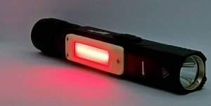 A red emergency light can be turned on if necessary.