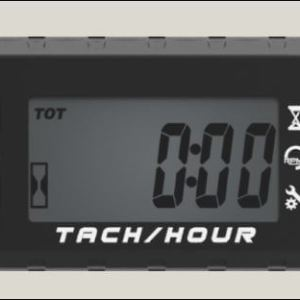 Combined Hour Meter and Tachometer