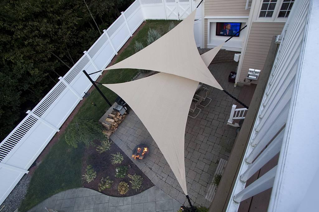 shade sail ideas an abundance of uses