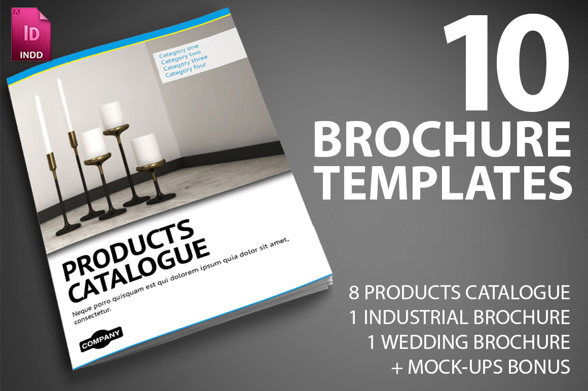 LAST DAY  10 Professional InDesign Brochure Templates from Smarty     LAST DAY  10 Professional InDesign Brochure Templates from Smarty Bundles
