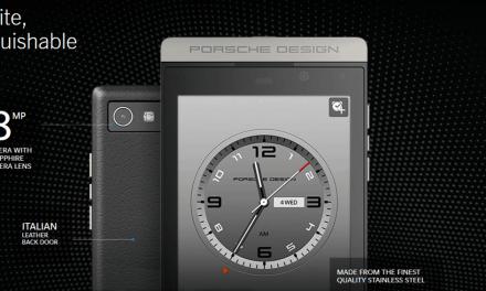 At least Porsche still loves BlackBerry. Releases P'9982