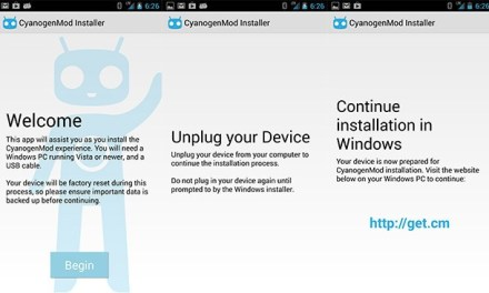 CyanogenMod Releases Desktop and Mobile App