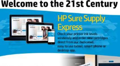Welcome to the 21st Century with HP Sure Supply