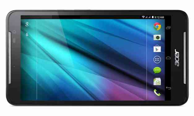 Acer Iconia Talk S Announced – 4G LTE Tablet with Dual Sim