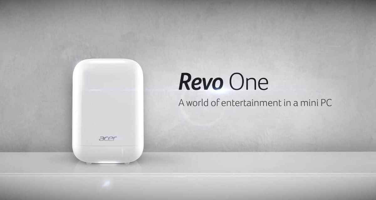Acer Revo One Initial Impressions