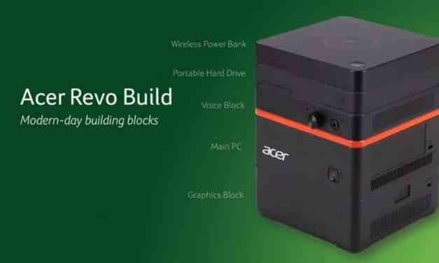 IFA 2015: Acer Revo Build Announced: Modular Small Form PC