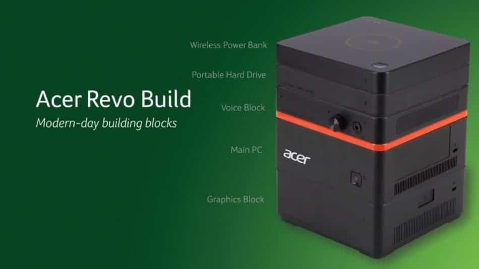 IFA 2015: Acer Revo Build Announced: Modular Small Form PC
