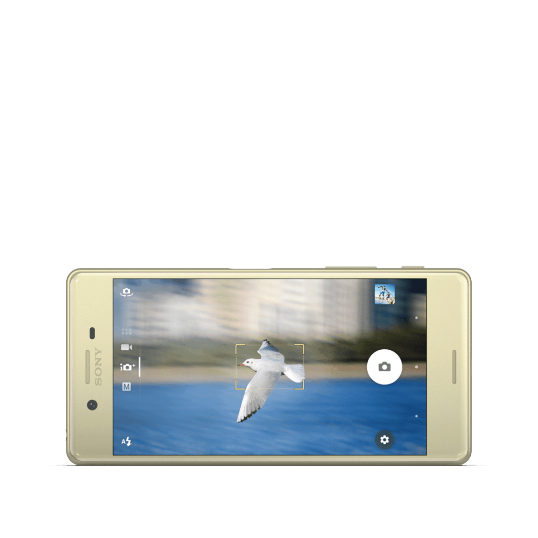 Xperia X Gold Front Horiz