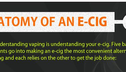 INFOGRAPHIC: Anatomy Of An E-Cig