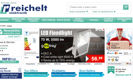 reichelt: Online Retailer Set to Shake-Up UK Electronics Market with Prices 20% Cheaper
