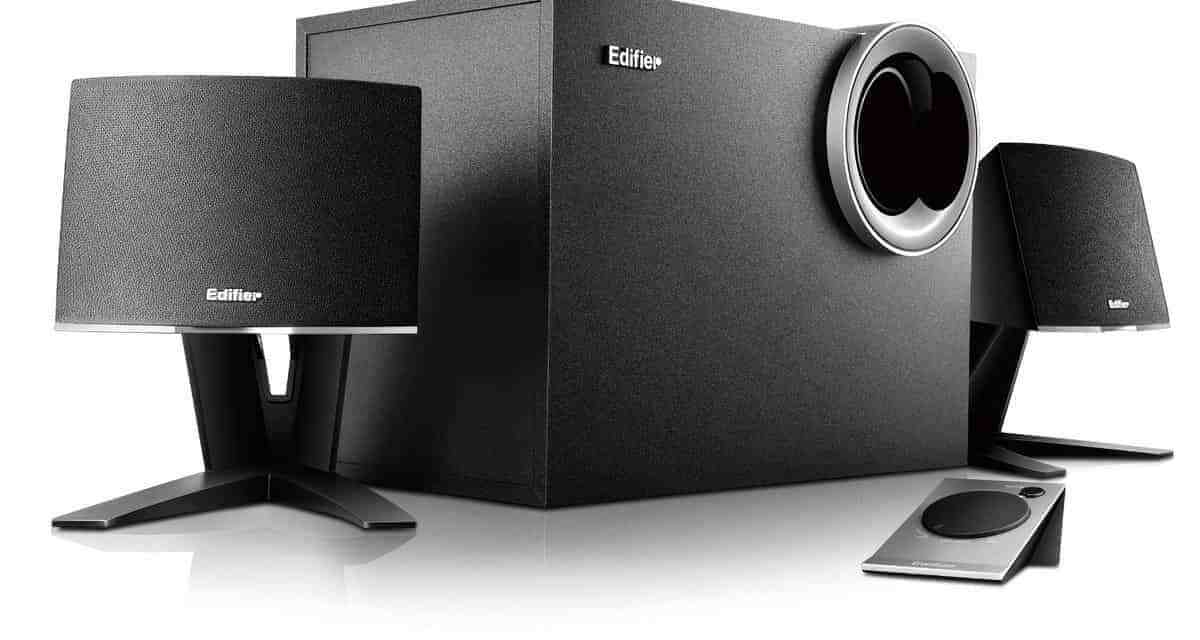 Edifier M1380 2.1 speaker system review