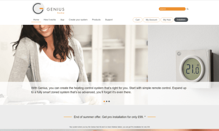 Heat Genius Rebrands to Genius Home with Launch of updated products and App