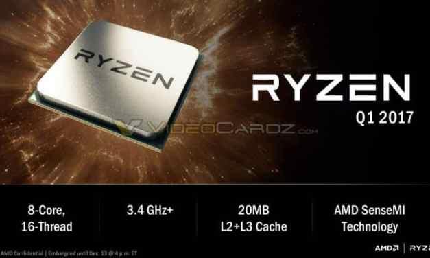AMD unveils Ryzen CPUs. Claims Intel beating performance.
