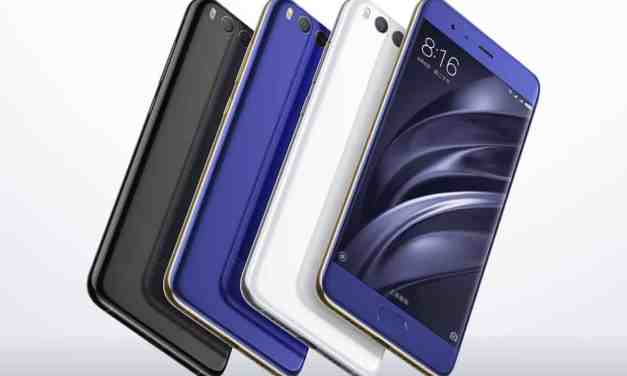 Xiaomi Mi 6 Announced – An affordable high end phone