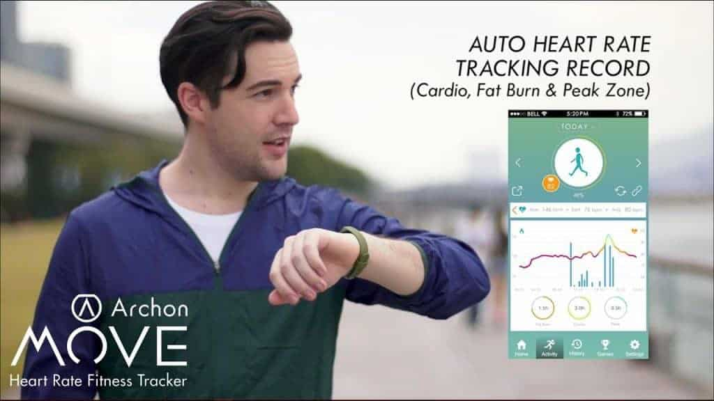 Archon Move Colour Touch Screen Heart Rate Fitness Monitor Review