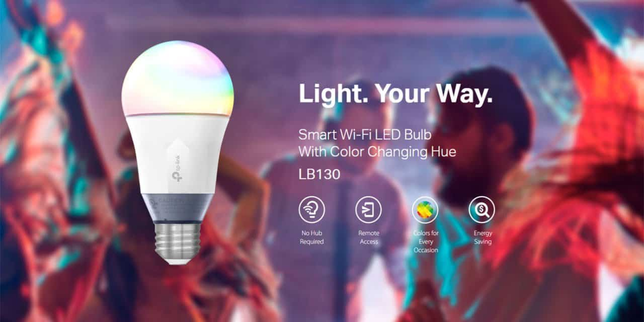 Win a TP-Link LB130 Smart LED Wi-Fi Light Bulb