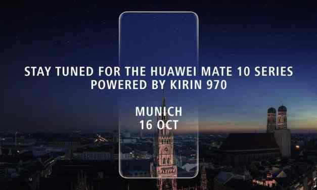 Huawei Mate 10 release date confirmed powered by new Kirin 970 SoC