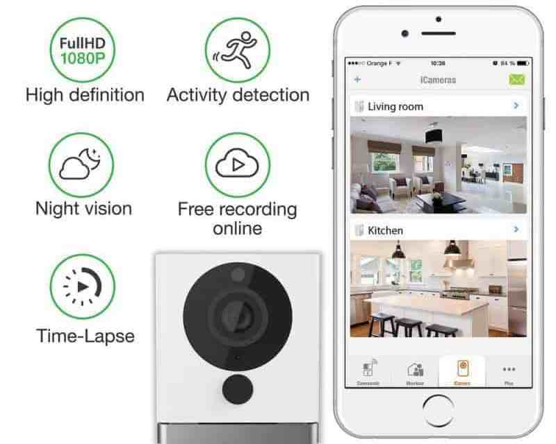 iSmartAlarm SPOT+ Indoor WiFi Security Camera Review ISC5P2