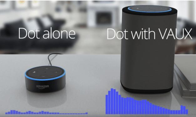 Ninety7 VAUX Portable Amazon Echo Dot Speaker Review