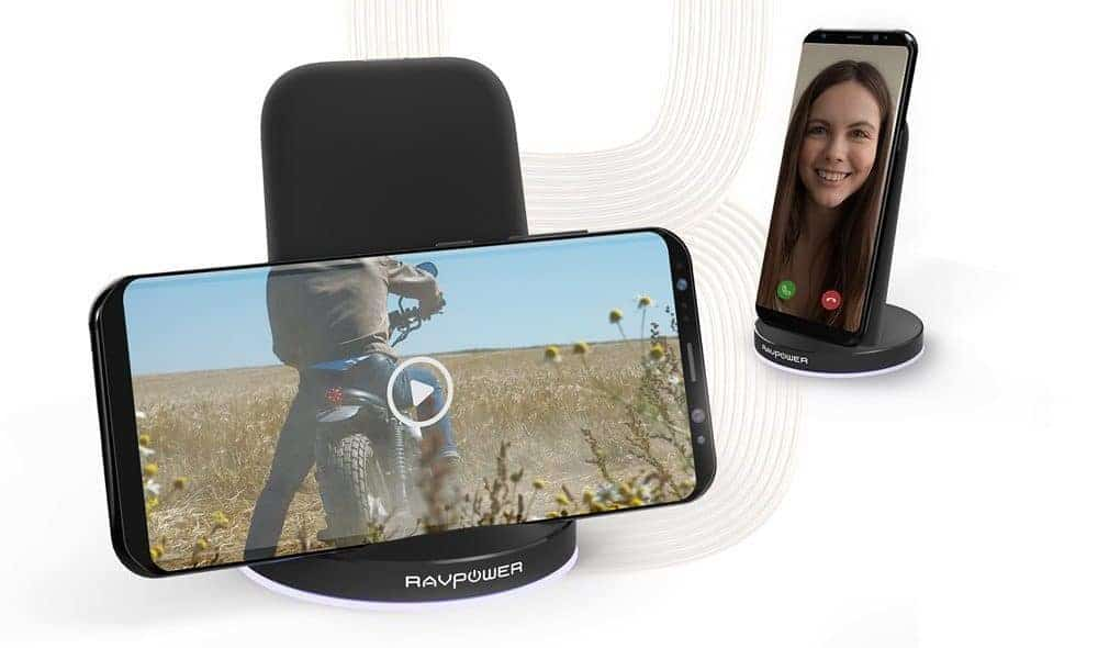 Mini Reviews: RAVPower Qi Wireless Charging Stand & Mini Car Charger