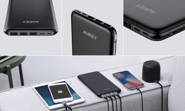 Competition: Win a AUKEY USB-C & Lightning 20000mAh Power Bank