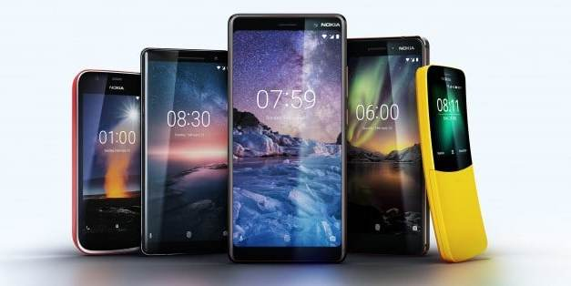Nokia 1, 6 and 7 Plus Announced at MWC with Premium Design