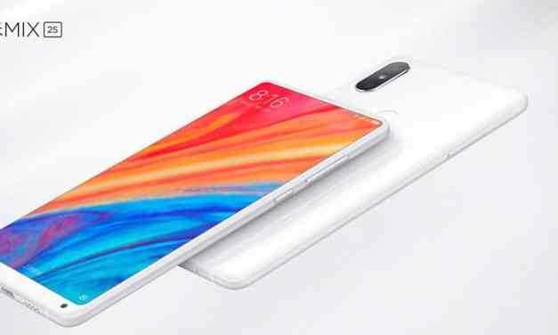 Xiaomi Mi Mix 2S Announced with the notch-free-bezel-free display & Snapdragon 845