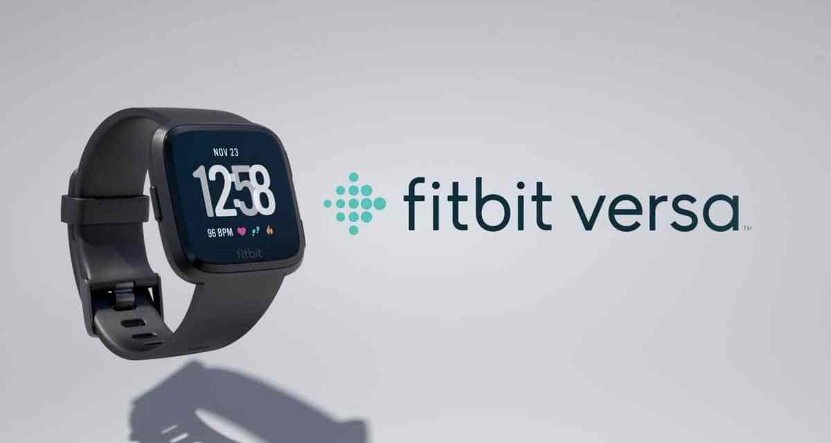 Fitbit Versa Smartwatch Announced for £199