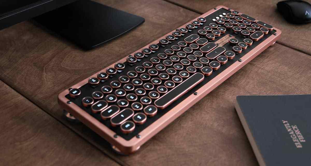 Win a Azio Retro Classic Bluetooth Mechanical Keyboard