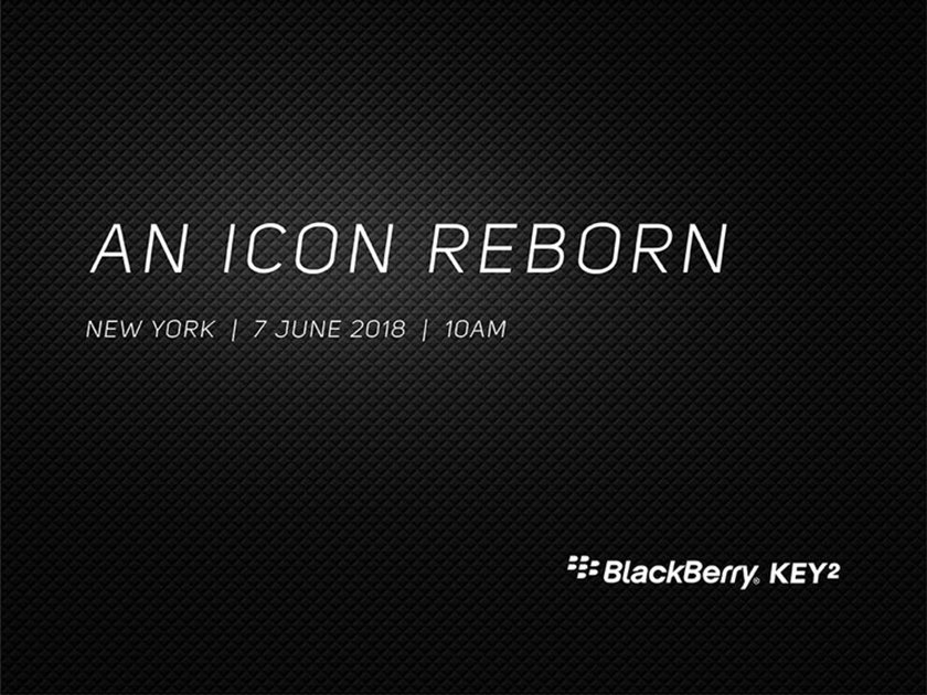BlackBerry Key2 will be launched on 7th of June in New York