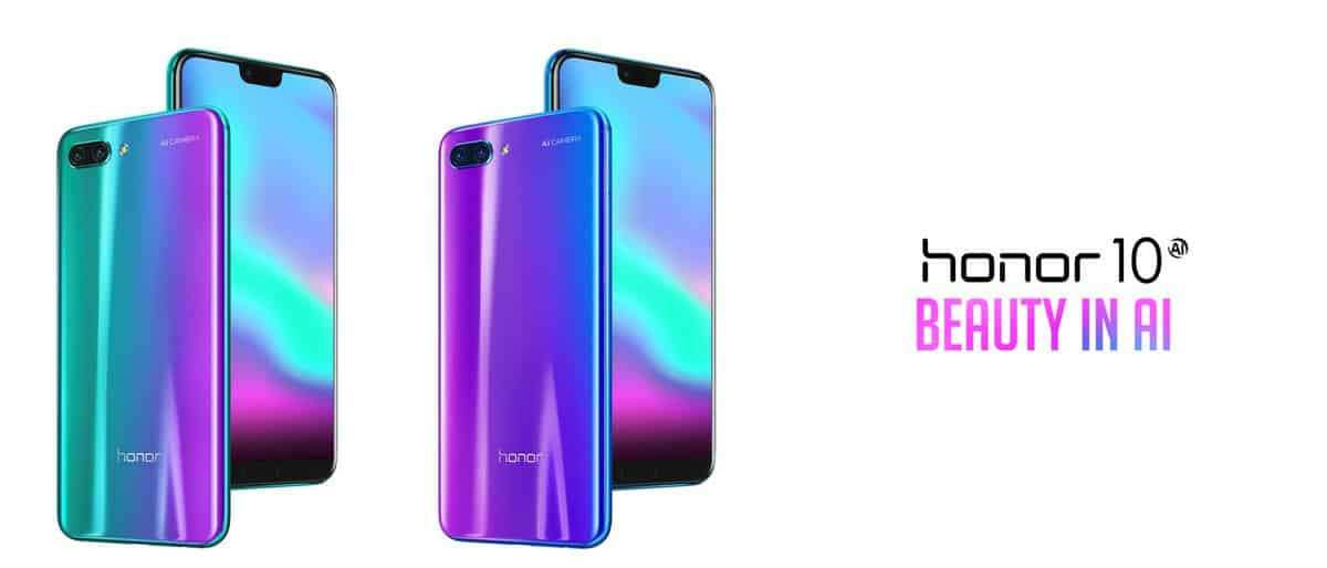 Honor 10 Announced : Beauty In AI