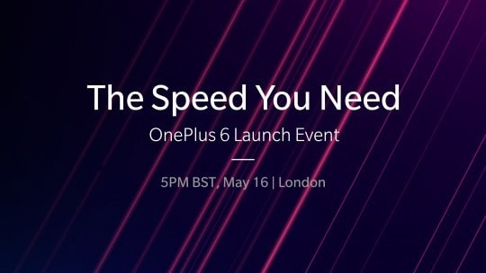 OnePlus 6 launch today