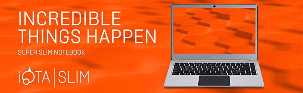 iOTA Slim 2310 14″ Celeron N3350 Laptop Review