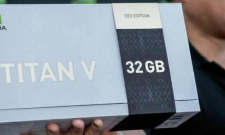Nvidia gives away 32GB Titan V CEO Edition GPU