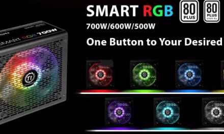 Thermaltake Smart RGB 700 Watt 80+ PSU Review