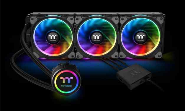 Thermaltake 360mm Floe Riing RGB Premium Edition All In One CPU Water Cooler Review