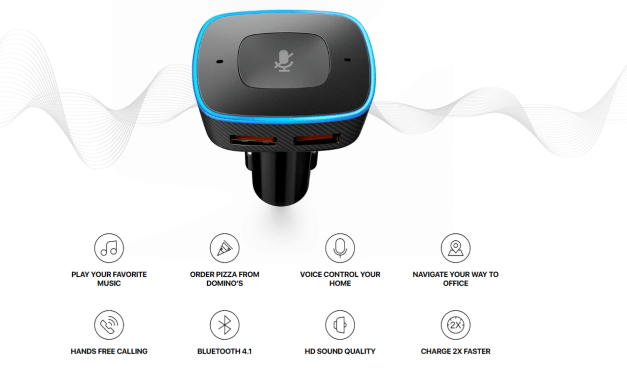 Anker Roav Viva – Alexa-Enabled 2-Port USB Car Charger Review – Voice control navigation and music control