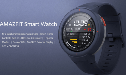 Xiaomi Huami Amazfit Verge launched a fully fledged smartwatch for £130